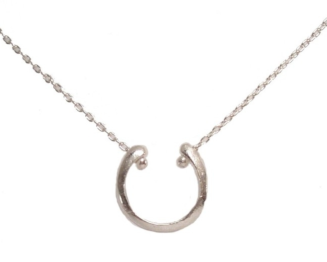 $115 COSTA NECKLACE designed after the vertebrae, the necklace symbolizes protection and has a polished finish sterling silver