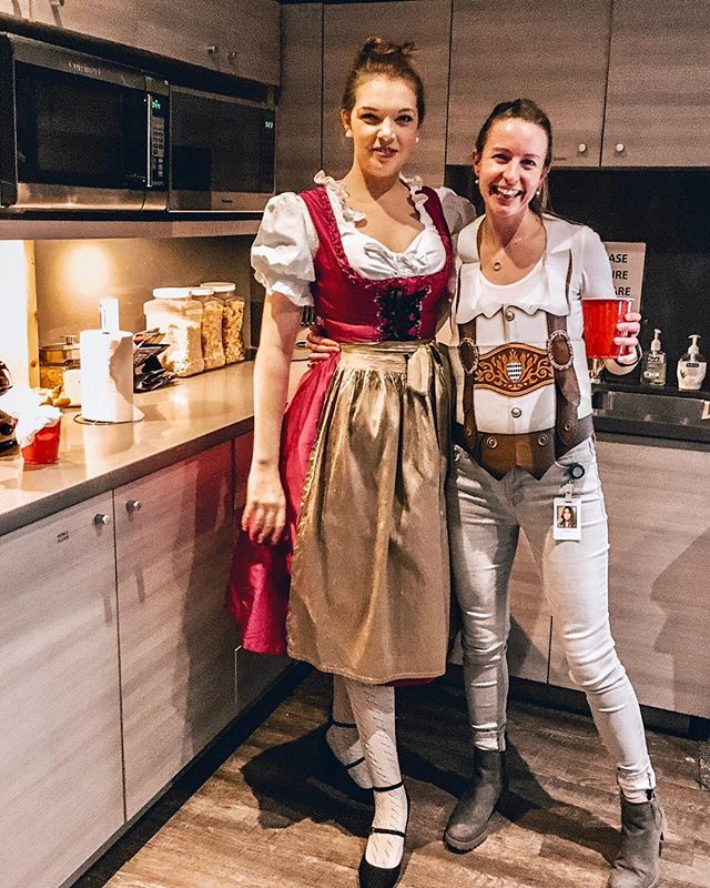 Are you planning on going to an Oktoberfest party this weekend but don't know what to wear? We can help out! Do it like Angelika and rent original German Dirndl and Lederhosen costumes with us! #trachtup #vancouveroktoberfest #prost . 📸@angelipie . #oktoberfest #vancouver #vancity #trachtup #rentyourtracht #costumerental #dirndl #lederhosen #prost #ozapftis