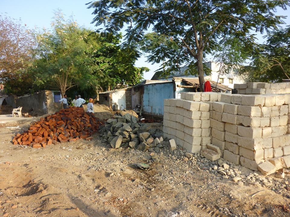 A main thrust of the Rural Habitat Development Programme has been in terms of housing rehabilitation and new housing construction, especially in terms of finance mechanisms, construction materials and low-cost design.  Source:  Aseem Inam