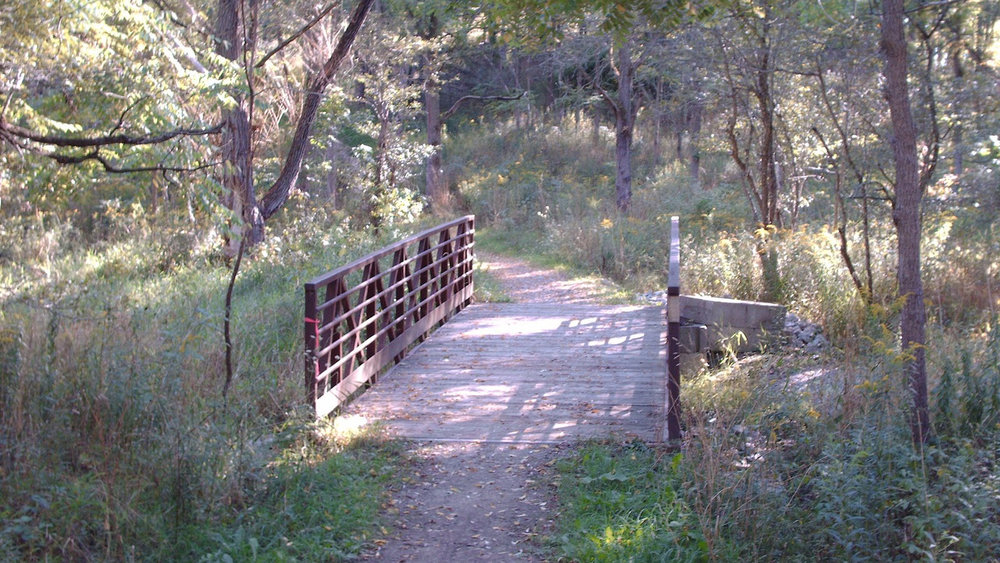 Short Hills Park walking trail