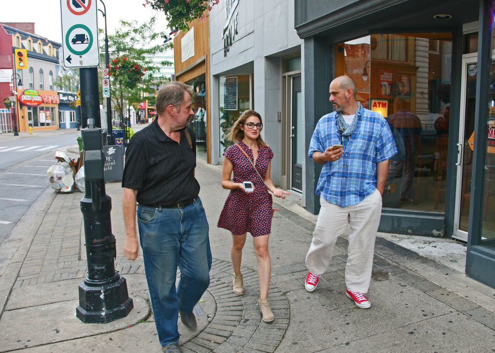 Walking tour of the St. Catharines Heritage Corridor with Brian Narhi and Franklin Vagnone