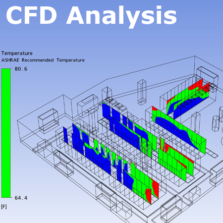 Critical Facilities Solutions also provides a Thermal CFD Analysis & Efficiency Consulting serivice, as well as airflow mitigation, helping you understand and improve your airflow cooling efficiency.
