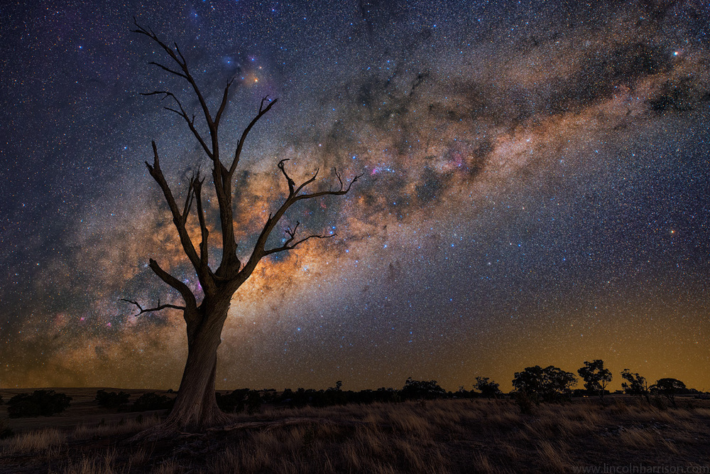 stars, milky way, night sky, galaxy, galactic center, nebula, night, lincoln harrison, long exposure, nightscape, starscape