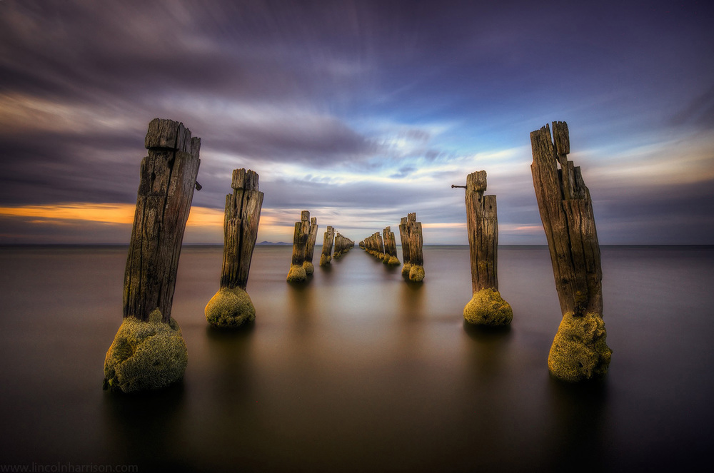 seascape, sunsrise, sunset, lincoln harrison, long exposure, lee filters, clifton springs, corio bay, the way, big stopper, 10 stop