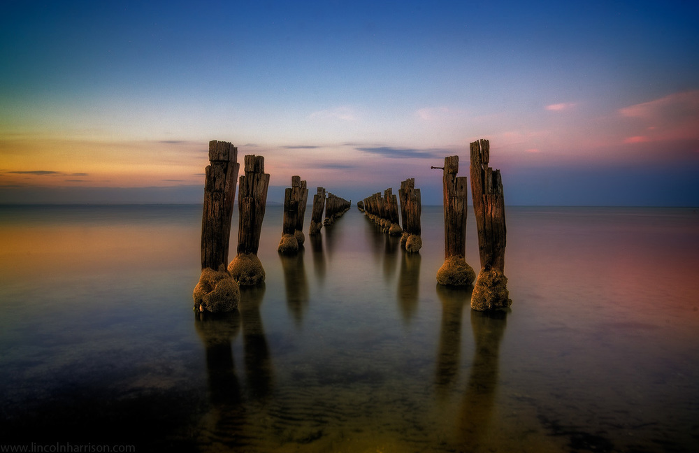 seascape, sunsrise, sunset, lincoln harrison, long exposure, lee filters, clifton springs, corio bay,