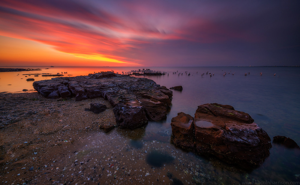 seascape, sunsrise, sunset, lincoln harrison, long exposure, lee filters,brighton beach