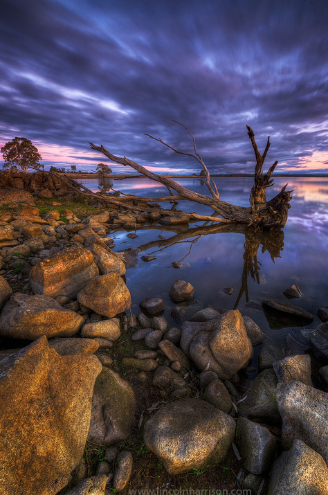 seascape, sunsrise, sunset, lincoln harrison, long exposure, lee filters,lake eppalock