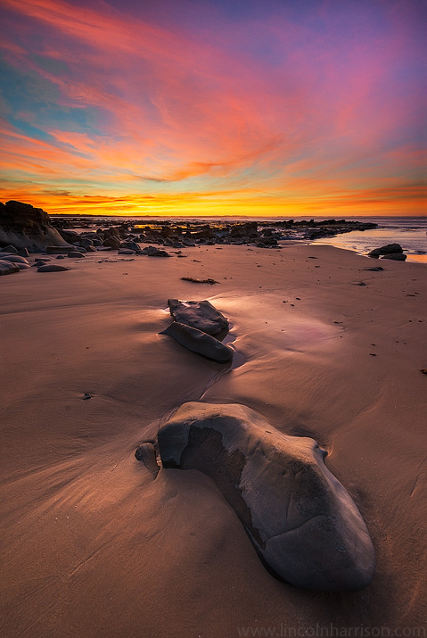 seascape, sunsrise, sunset, lincoln harrison, long exposure, lee filters, inverloch, caves beach