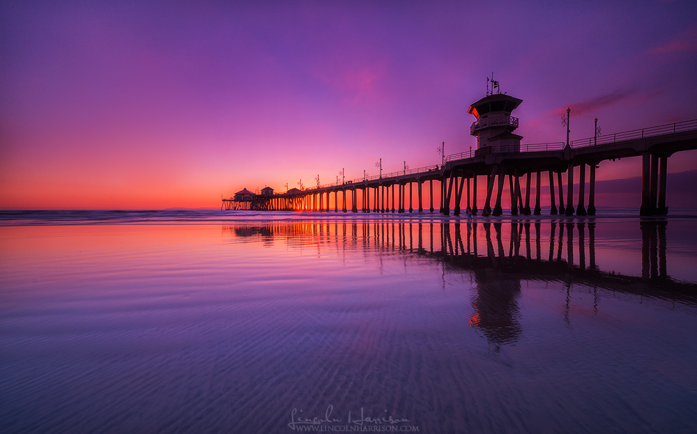 huntington beach pier california