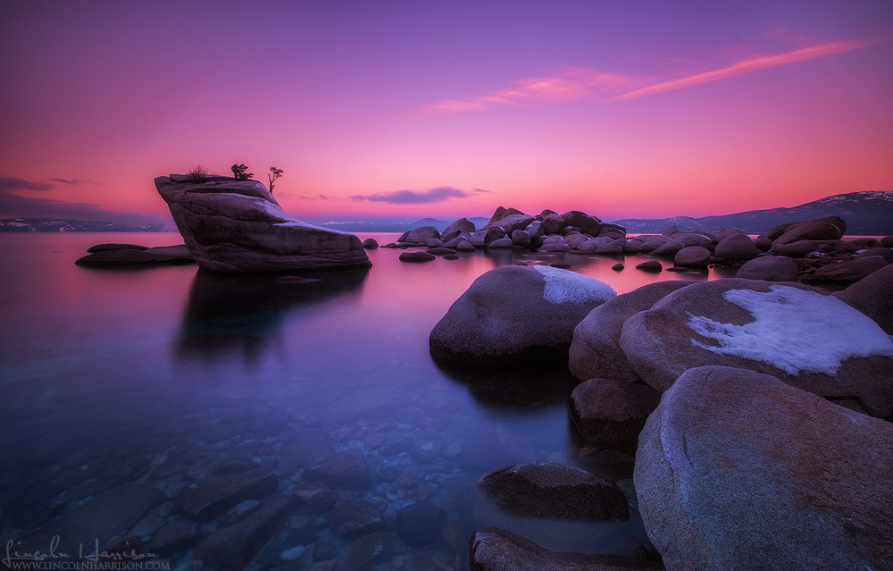 bonsai rock lake tahoe nevada