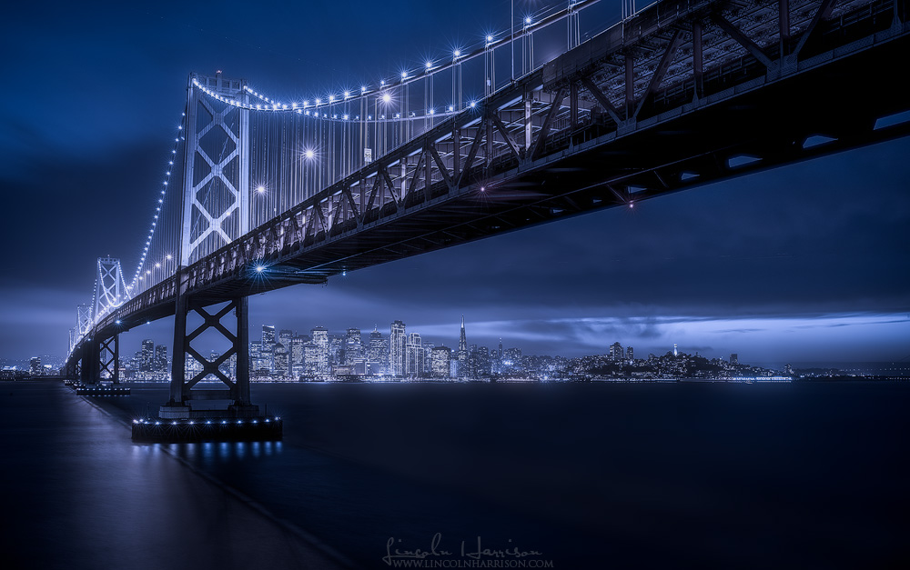 san francisco bay bridge california
