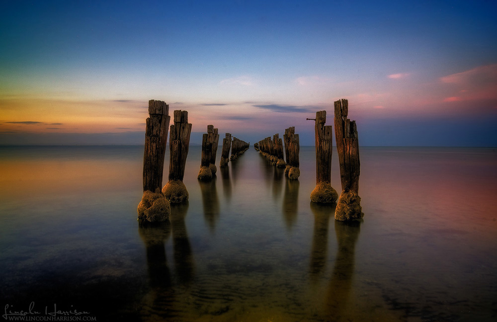 Clifton Springs Pier Pylons