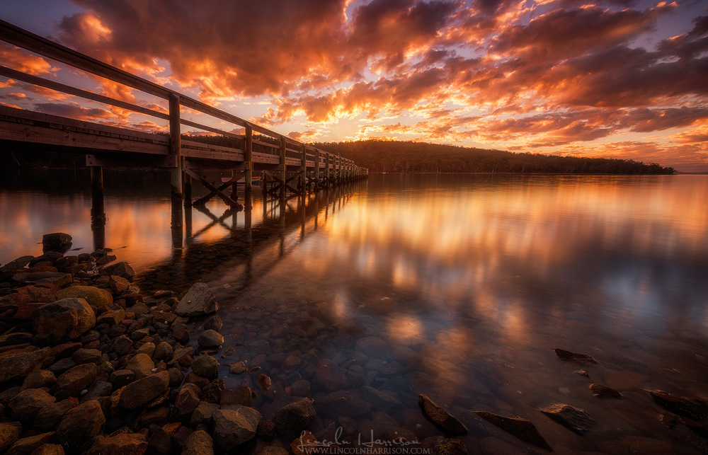 Port Arthur jetty Tasmania