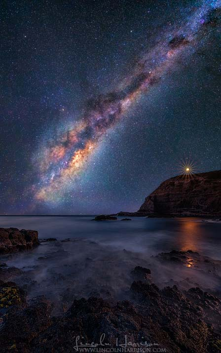 cape schanck milky way