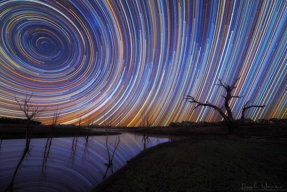 Mt Ida Creek Startrails