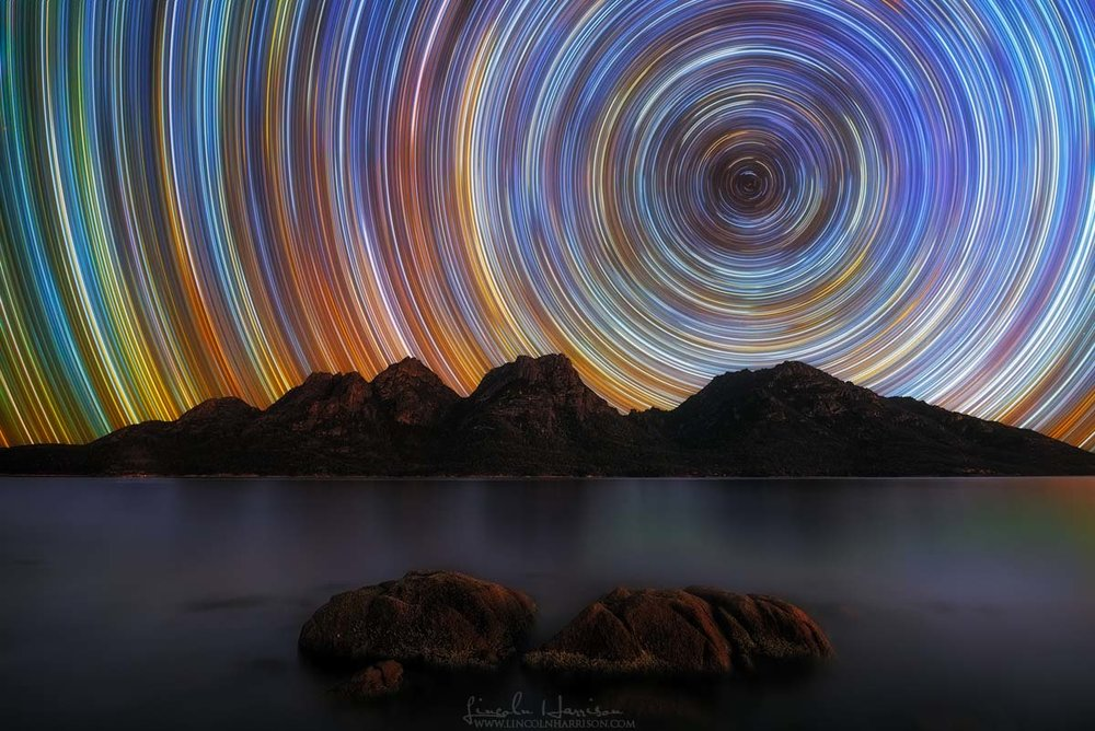 coles bay startrail