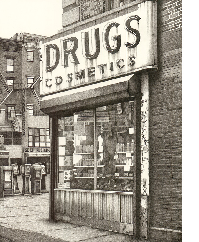Drugstore, Manhattan