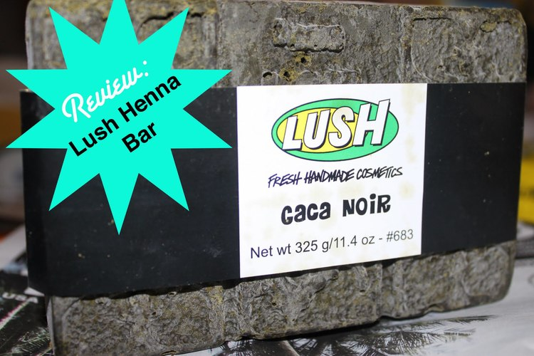 Review Lush Henna Bar In Caca Noir Kiffe Coco