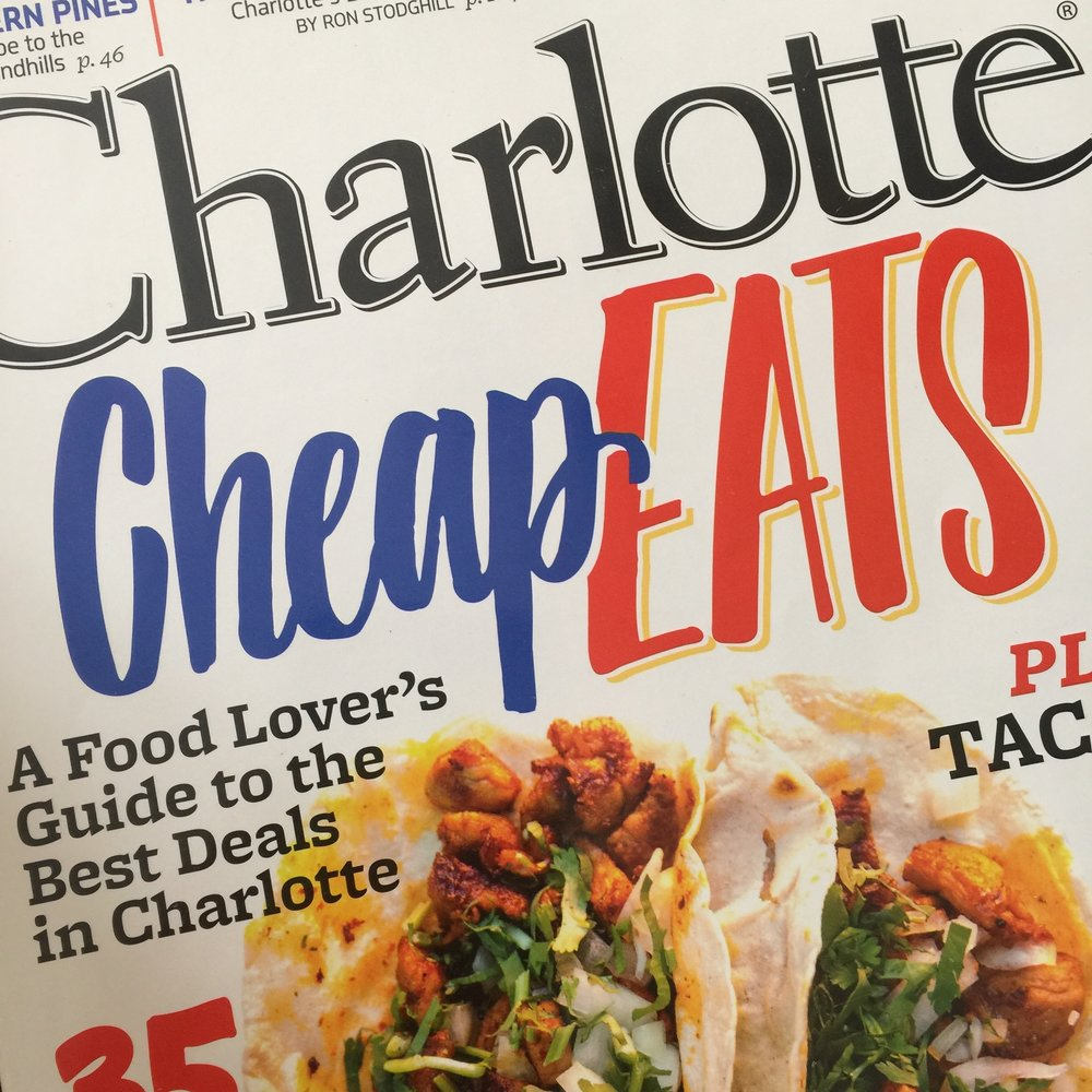 Charlotte Magazine - June 2016