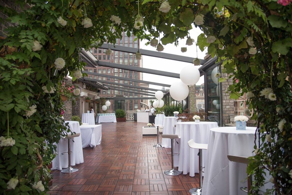 Manhattan Rooftop Baby Shower