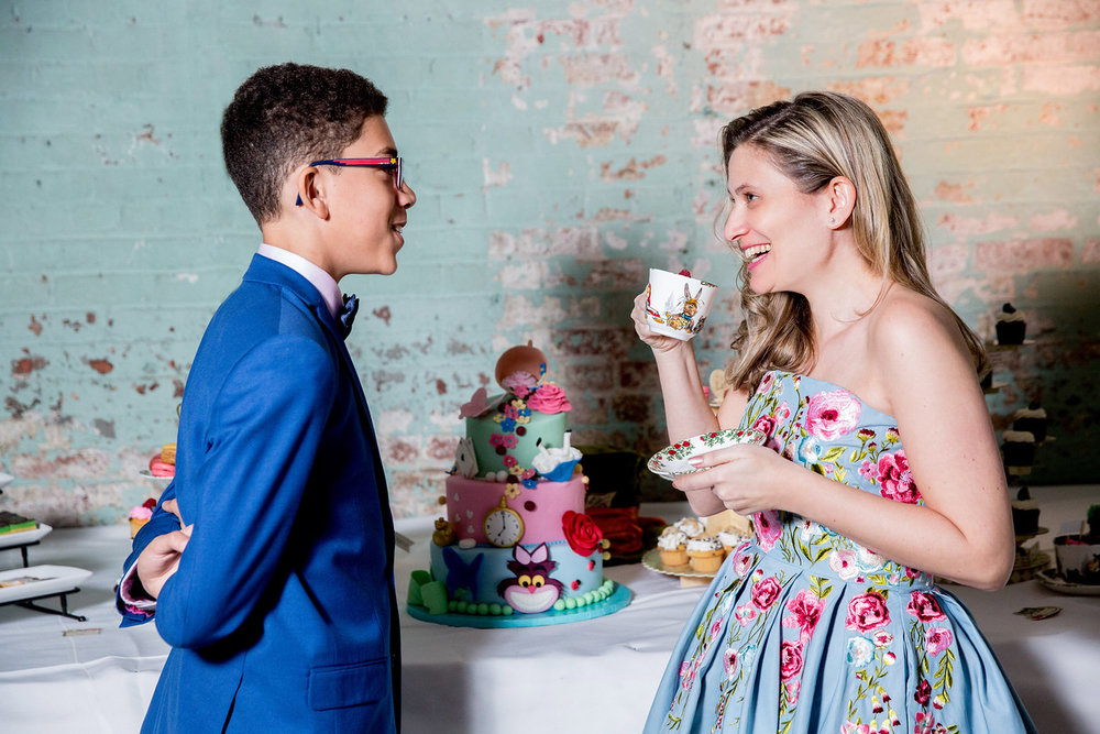 Alice in Wonderland Bar Mitzvah
