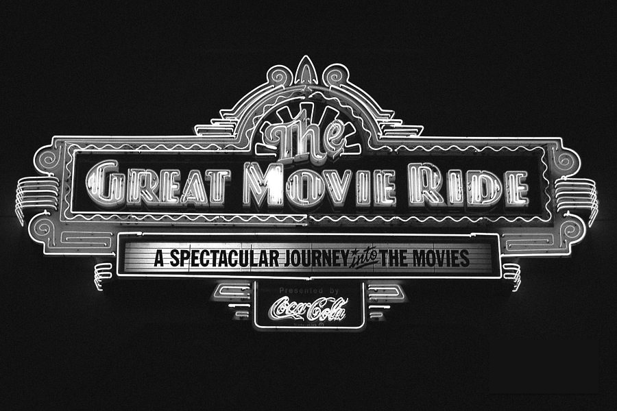 great-movie-ride-neon-sign-hollywood-studios-walt-disney-world-prints-black-and-white-film-grain-shawn-obrien.jpg