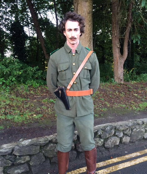 As Thomas Ashe, Fingal's Finest, 2016