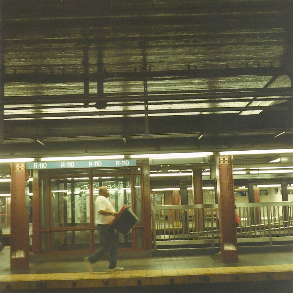 Subway station, NYC