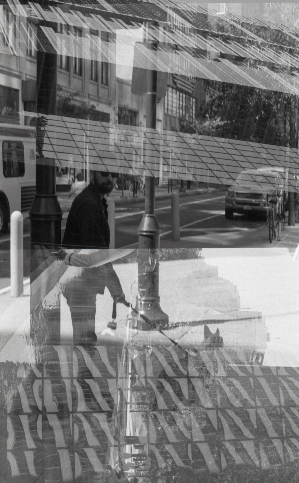 Center City double exposure