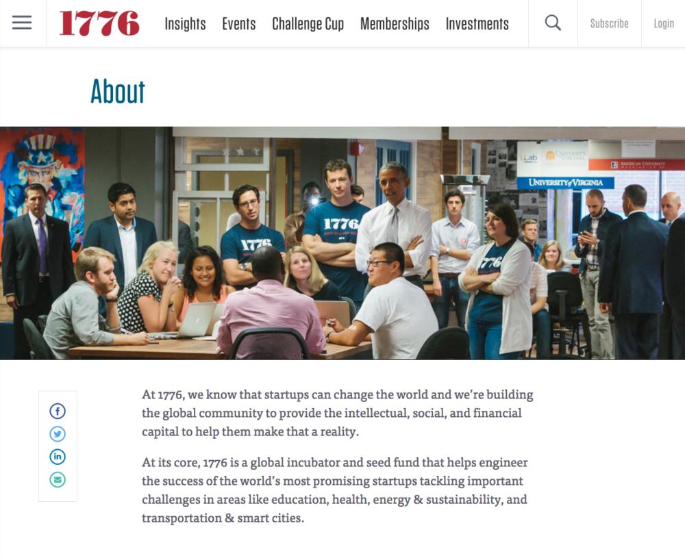 1776 Website