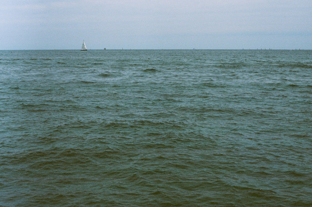 Lake Michigan Kodak Ektar 100