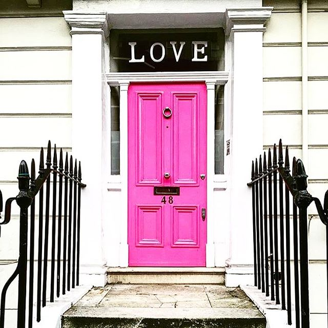 Thank you for all the #love #London & UK 💗🇬🇧 #doorsoflondon #doors