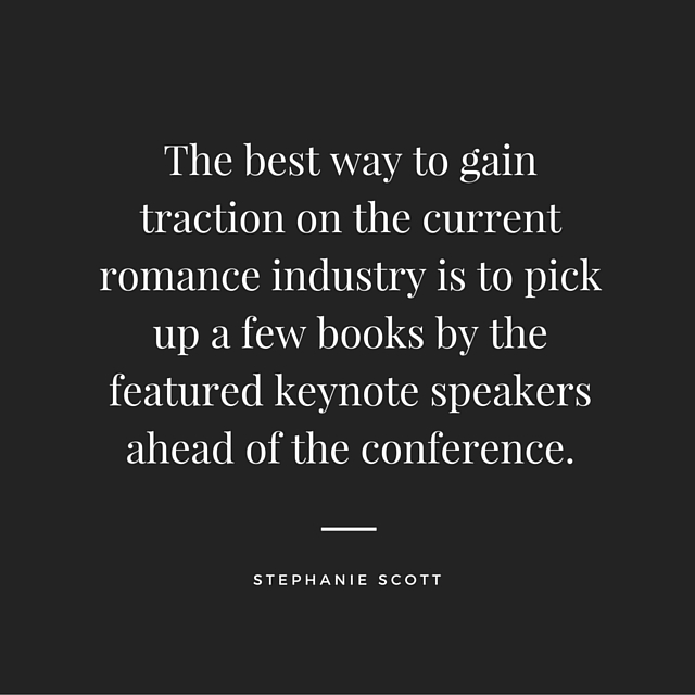 YA writer Stephanie Scott shares her advice for making the most of the RWA National Conference. Great tips for any writer who will be attending a conference!