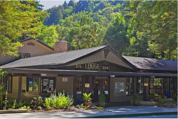 Big Sur Lodge: where the Big Sur Children's Writing Workshop is held