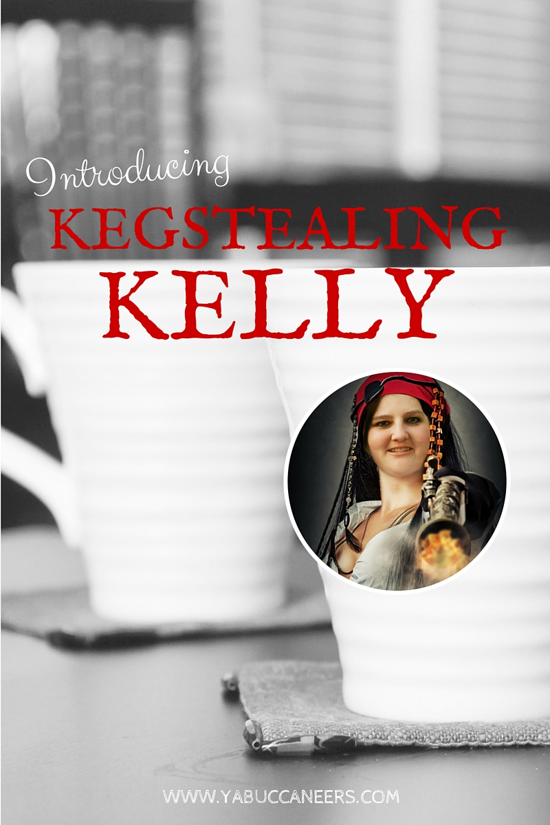 Help us welcome our newest addition to the crew: YA writer Kelly deVos! Visit the YA Buccaneers to see her video interview >>>