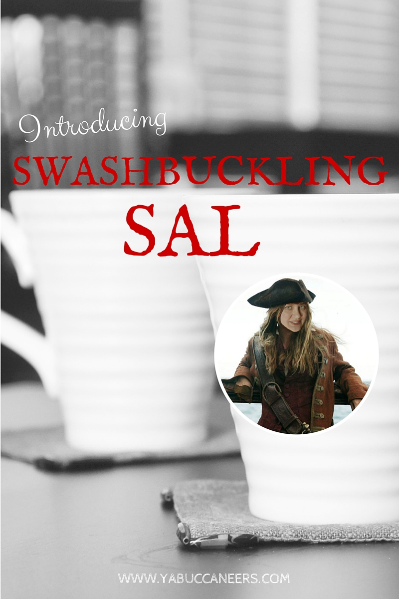 Meet new crew member Sara Tolcser (a.k.a. Swashbuckling Sal) on the YA Buccaneers >>>