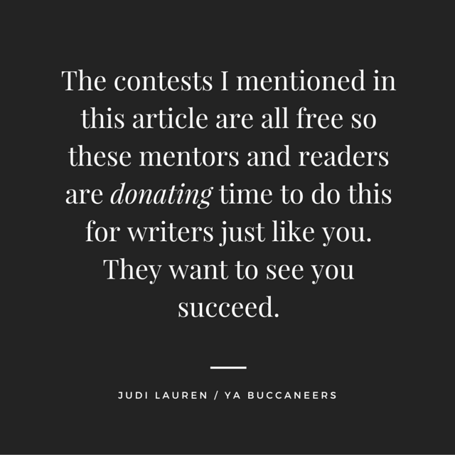 WHEN IT COMES TO WRITING, YOU'LL PROBABLY BE ENTERING A LOT OF WRITING CONTESTS. HERE ARE A FEW HELPFUL TIPS FOR GETTING THROUGH THE SLUSH PILE.