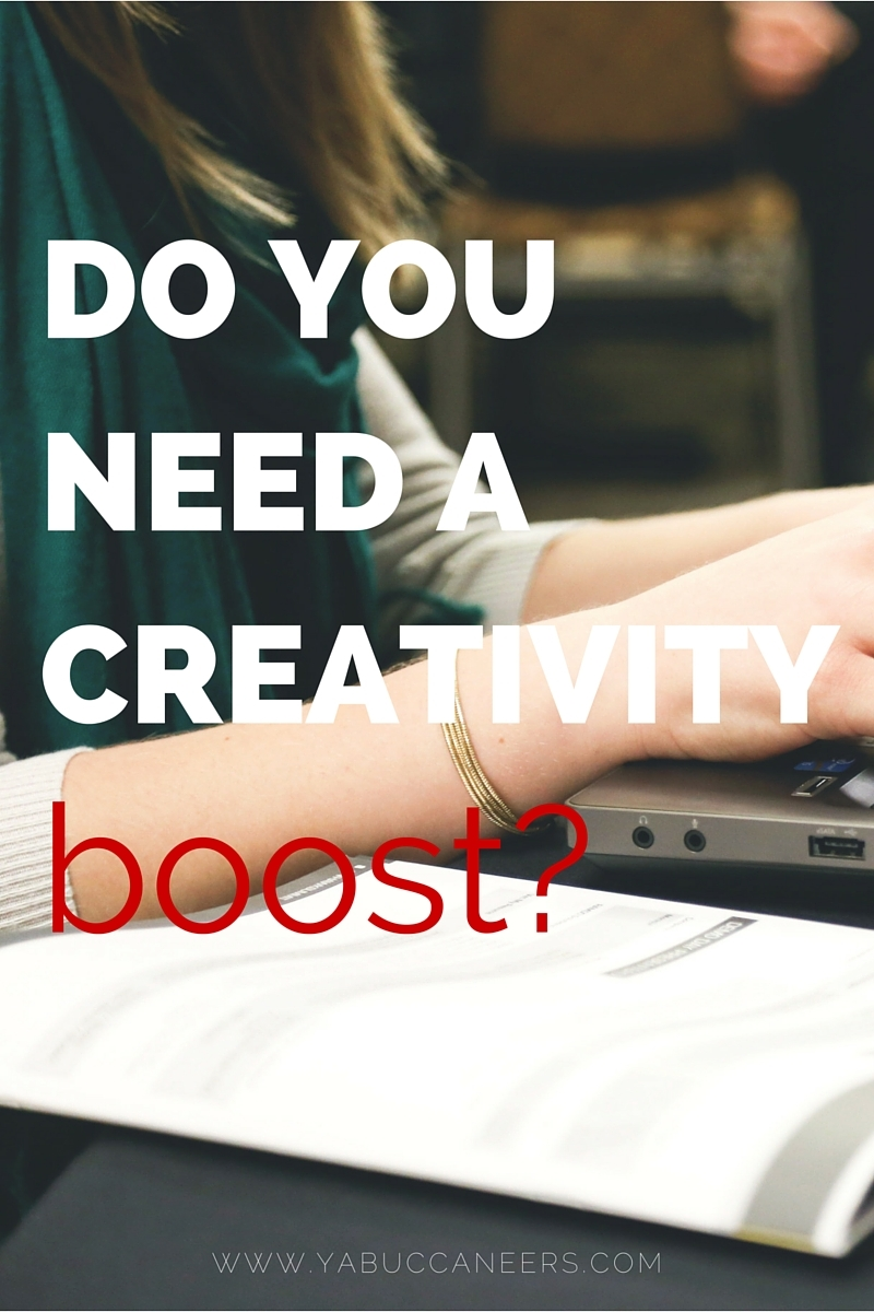 Feeling all tapped out? We've got ways to help you boost your creativity!