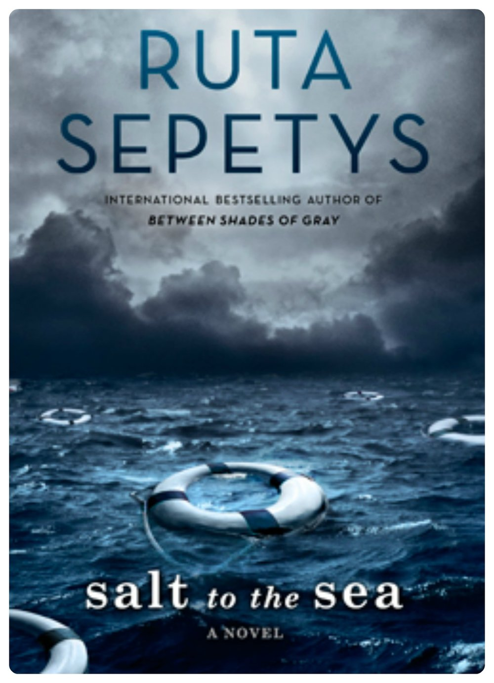 SALT TO THE SEA by Ruta Sepetys.