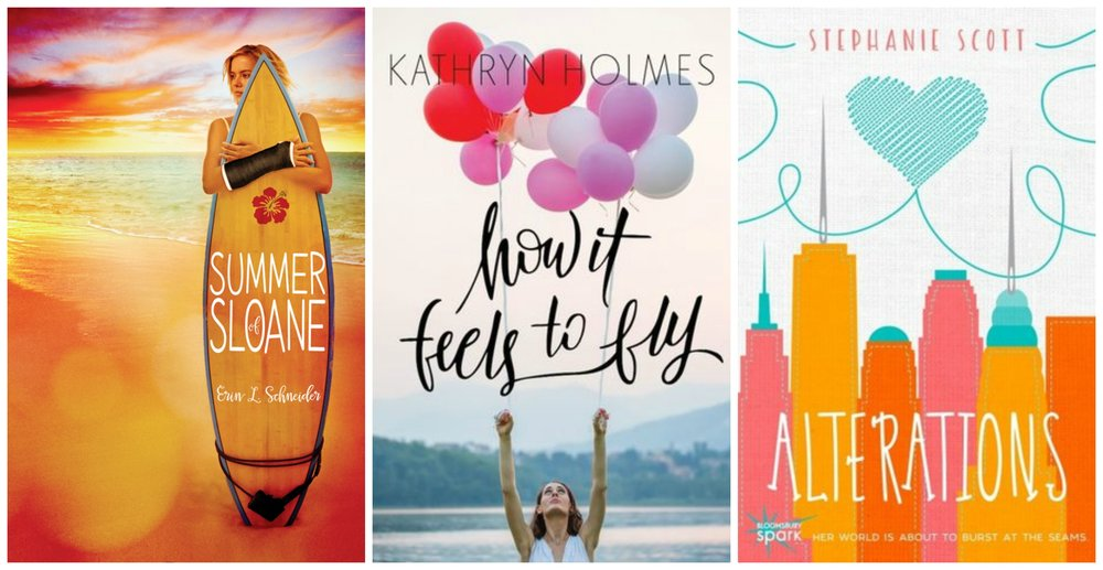 Books that came out in 2016 (or are soon to be released) by our very own YAB crew!