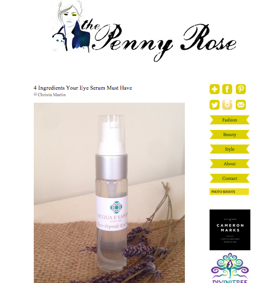 The Penny Rose | 4 Ingredients Your Eye Serum Must Have ft. The Skin Coach