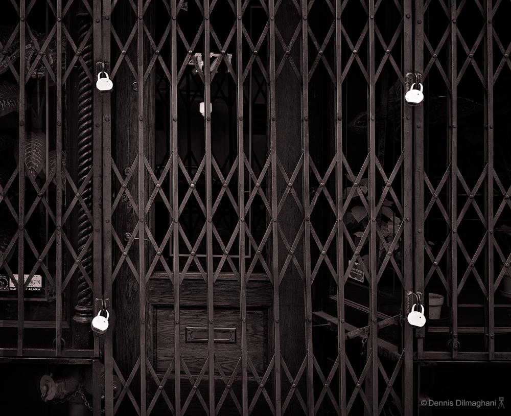 Gate & Padlocks - NYC
