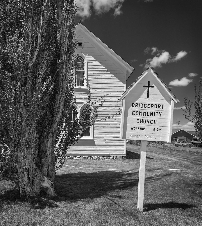 Church, Bridgeport, CA (click images to enlarge)