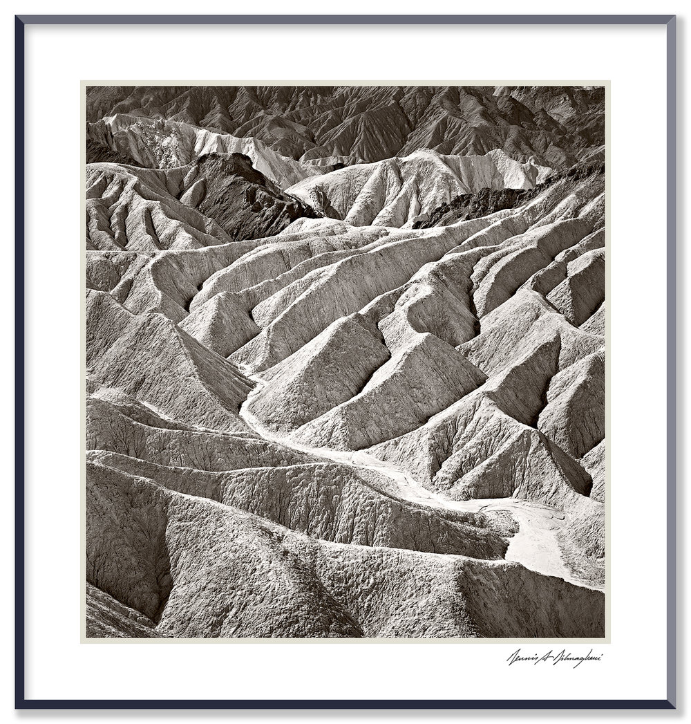 Zabriskie Badlands - Death Valley National Park - California