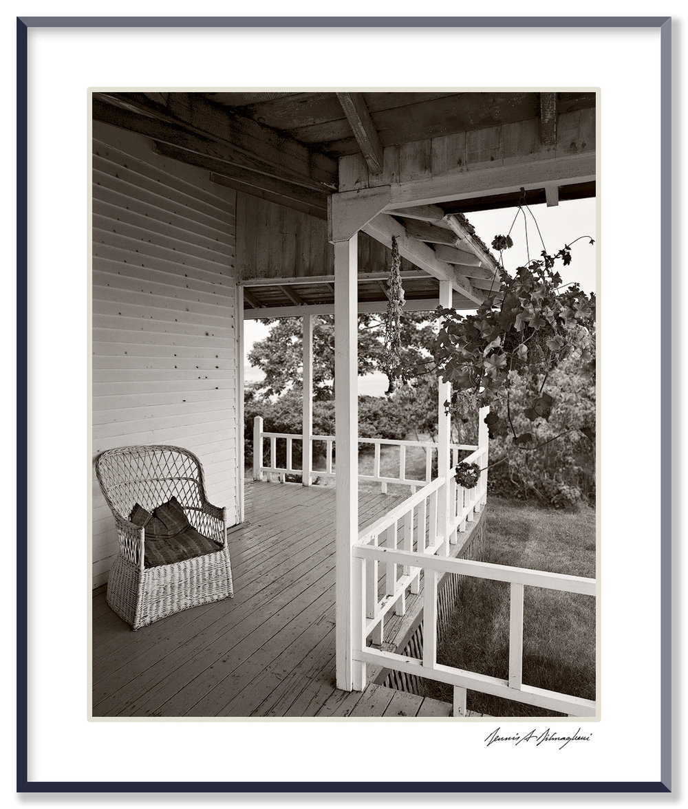 Side Porch, House - Cranberry Island, Maine