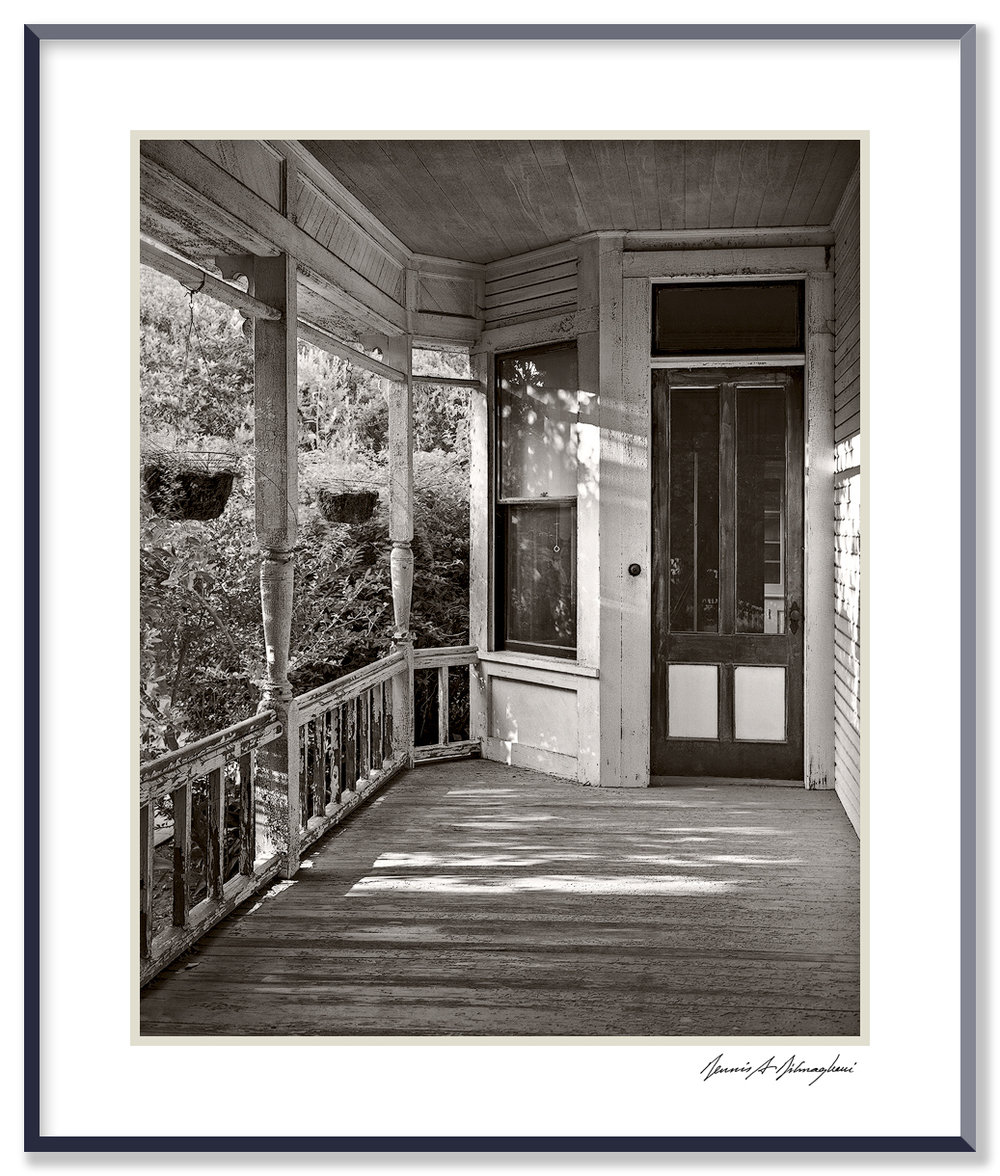 Side Porch, House - Pasadena, California