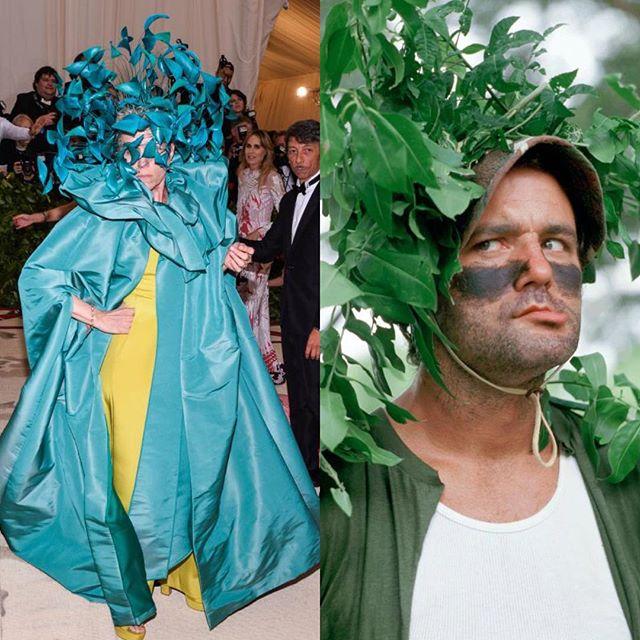 Who wore it better? #metgala2018 #metgala