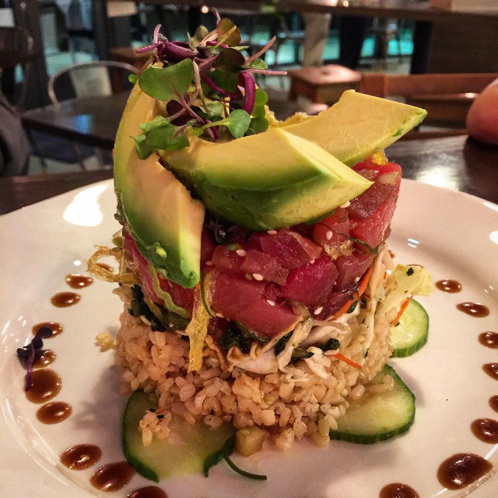 green2Go organic restaurant brea cailfornia tuna poke IMG_7775.JPG