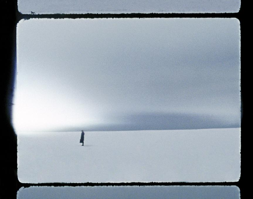 Standing on a Beach