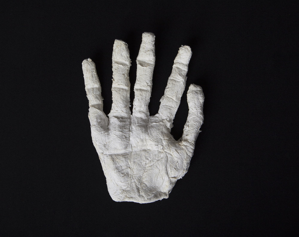 A life-sized hand was confiscated because a Correction Officer thought he was making an escape dummy.
